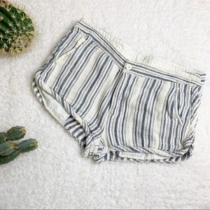 Free People Night Moves Striped Short Size 10